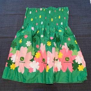 Other - John Deere Smocked Fabric
